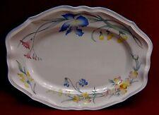 """VILLEROY & BOCH china RIVIERA pattern Medium Oval Serving Platter - 14-1/4"""""""