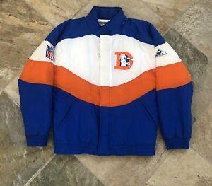 Vintage Denver Broncos Apex One Parka Football Jacket, Size Small