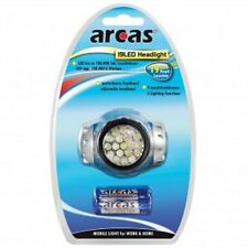 ARCAS 19 Led Headlight Linterna Frontal, Camping Caza Pesca Senderismo OFERTA