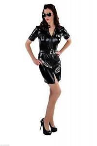 FBI Kleid Polizist Polizei Police Cop CIA Kostüm Polizistin SWAT Polizeikostüm