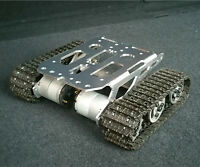 Tank Chassis Intelligent Car Tracked Chassis Tracked Vehicle Tank Car Tank Robot