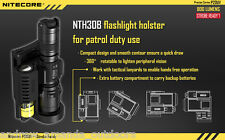 Nitecore P20UV Strobe Ready LED Flashlight - 800 Lumens w/ NTH30B Holster