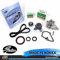 Gates HTD Timing Belt Kit Water Pump Fits 96-11 Hyundai Accent Kia Rio 1.5L 1.6L
