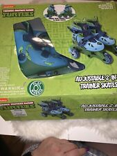 Nickelodeon Tmnt Adjustable 2-In-1 Trainer Skates (Missing Straps) Pre Owned