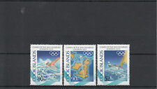 Cook Islands 2012 MNH London Olympics 3v Set Olympic Games Swimming Sailing