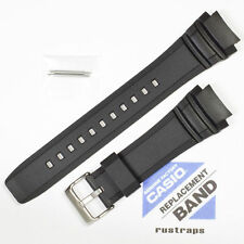 CASIO black rubber watch band for AMW-710, 10347967