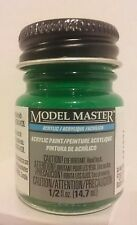 Testors Model Master Acrylic paint 4669, Green Gloss.