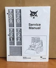 Bobcat 700 720 721 722 Skid Steer Loader Service Manual Shop Repair Book 6556619