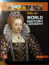 World History And Geography-Teacher Edition (Mcgraw-hill) Education-Very Good Vg