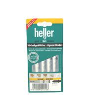 Heller T111C HCS Wood Jigsaw Blades - 5 Pack - High Quality German Cutting Tools