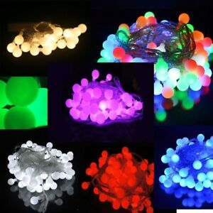 Battery Powered Berry Ball Shaped LED Fairy Lights 20, 40 LEDs Wedding Party