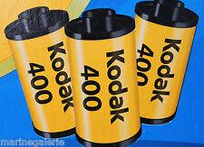 Pellicules photo couleur 24 poses Lot 3 Kodak Ultra Max neuves neuf 400 iso asa