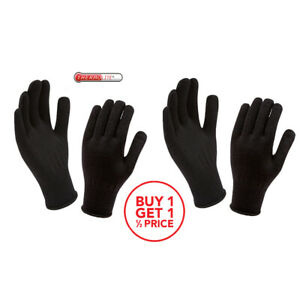 2 x Thermolite Thermal Inner Gloves / One Size Stretch Fit / Made in UK