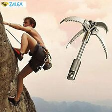 Grappling Hook Folding Survival Claw Multifunctional Stainless Steel Hook for Ou