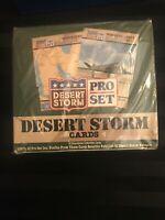 1990-1991 Pro Set Dessert Storm Wax Box 36 Packs Factory Sealed