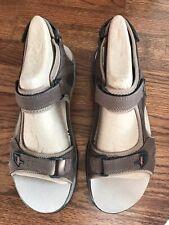 Abeo Biomechanical Footware Huntington Sandals In Brown Women's Size 11