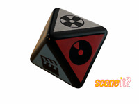 Scene It! Music Edition Game 8 Sided Dice.Genuine Die by Mattel Games