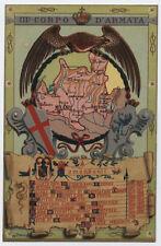 cartolina militare III°CORPO D'ARMATA