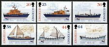Guernsey 1999, Lifeboats set VF MNH, Mi 802-07 cat 7,5€