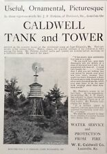 1902 AD(G23)~CALDWELL TANK AND TOWER CO. WATER SERVICE FOR FIRE PROTECTION