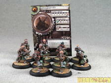 30mm Warmachine WDS painted Mercenaries Steelhead Riflemen c78