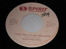 Bradford & Bell: (They Call It) Mr. Dollar's / Same Pt. Two 45 - Beach Soul