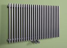 Designer Heizkörper Badheizung Badheizkörper horizontal 500x780 Silber Finnmark