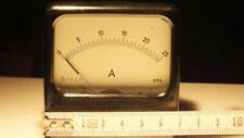 Amperemeter DC deutsches Fabrikat AMS Messtechnik Größe 72x72 mm