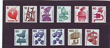 SRI LANKA-SG1596-1605 Gomma integra, non linguellato prevenzione degli incidenti 1971