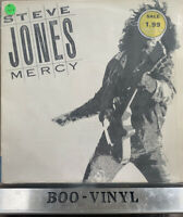Steve Jones vinyl LP album record Mercy UK MCF3384 MCA 1987 EX+ Con