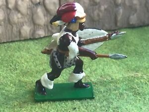 Zulu African warrior. Trophy of Wales Toy Soldier 54 mm toy Soldier