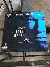Total recall Laserdisc Arnold Schwarzenegger