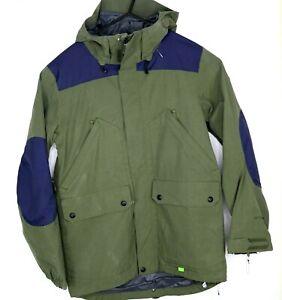 Volcom Alt Mens Size S Snowboard Jacket Dark Green
