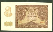 POLOGNE 100 ZLOTYCH de 1940  n° Pick 97  ETAT : NEUF lot 13