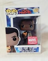 POP Captain Marvel   NICK FURY with Goose the Cat Bobble Head #447