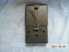 Vintage Deshler Metal Wall Mount Mailbox W/Original Box & Accessories!