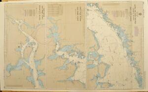 British Admiraty Chart 2580, Long Island, US East Coast