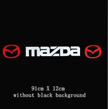 Amazing Parabrezza Parabrezza Auto Adesivo Decalcomania Per MAZDA ( senza sfondo )