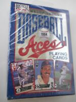 MLB Baseball Aces 1994 DECK OF Playing Cards- Sealed! New Unopened- #316
