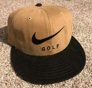 Deadstock Vintage 90's Nike Golf Adjustable Hat Cap Made In USA NWOT