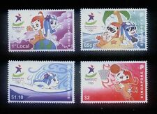 Singapore Stamps -  2010  Youth Olympic Game set of 4