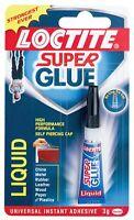 Henkel Loctite Liquid Superglue- High Bond Strength Cyanoacrylate Adhesive 3g