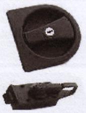 Caraloc 2000 Exterior and Interior Lock set, Left Hand, Caravan / Motorhome