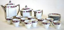 FRENCH ART DECO  COFFEE /TEA SET PORCELAIN