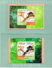 1996 Joint Issue Indonesia POP Mini Sheets form Both Countries