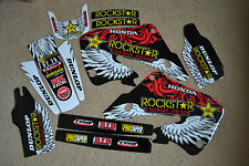 TEAM HONDA ROCKSTAR  GRAPHICS 98 99  CR125 CR125R &  1997 1998 1999 CR250R CR250