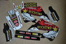 TEAM HONDA ROCKSTAR  GRAPHICS 98 99  CR125 CR125R &  1997 1998 1999 CR250R CR250