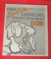CHARLIE HEBDO n°446 - 1979.  Couverture REISER. Etat neuf