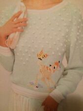 Disney Bambi Teenage Sweater Knitting Pattern