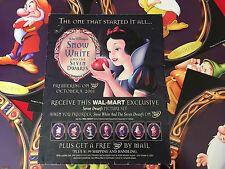 Walmart exclusive Walt Disney Snow White & Sever Dwarfs picture set 8/1 -10/9/01